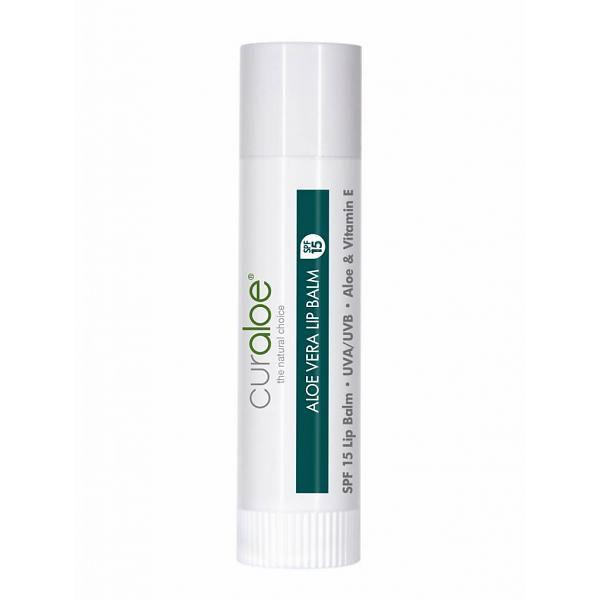 Aloe Vera Lippenstift naturell Curaloe® SPF 15