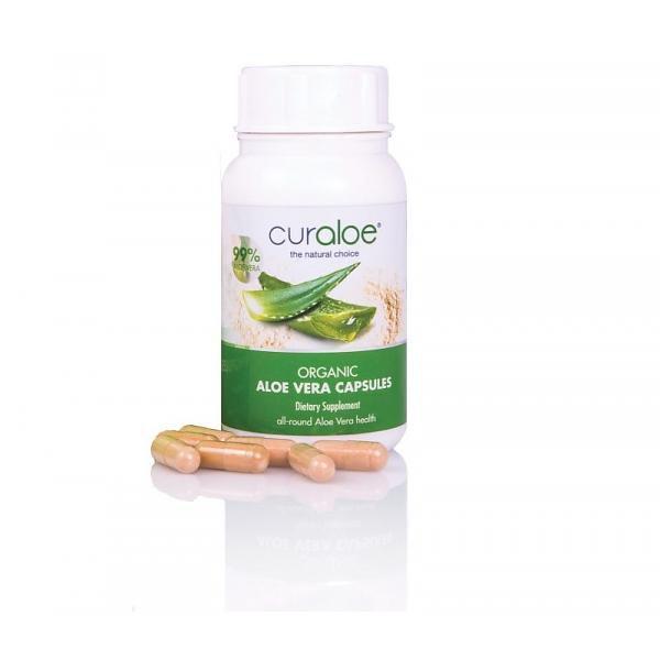 Curaloe® Aloe Vera Kapseln mit Vitamin B12 - 60 Stück