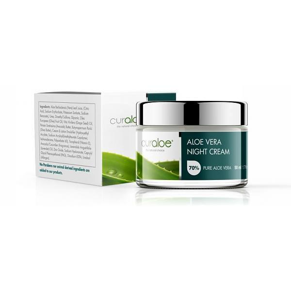 Aloe Vera Nachtcreme Curaloe® 50ml