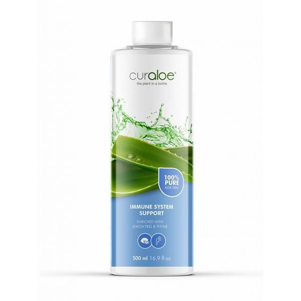 Curaloe® Aloe Vera Verdauungssystem Support Saft 500 ml