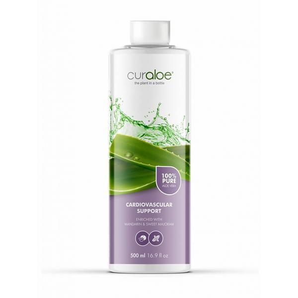 Curaloe® Aloe Vera Herz-Kreislauf-System Support Saft 500 ml